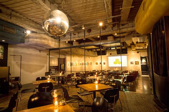 NOS Bar & Dining 店内